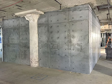 10' Thick Concrete Walls Over Exist CMU - Phoenix ...