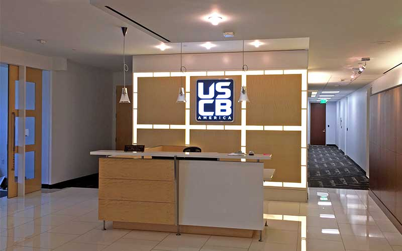 Project Complete for USCB at 355 S Grand